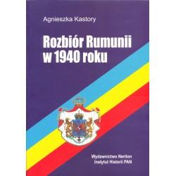 Rozbiór Rumunii w 1940 roku, Agnieszka Kastory